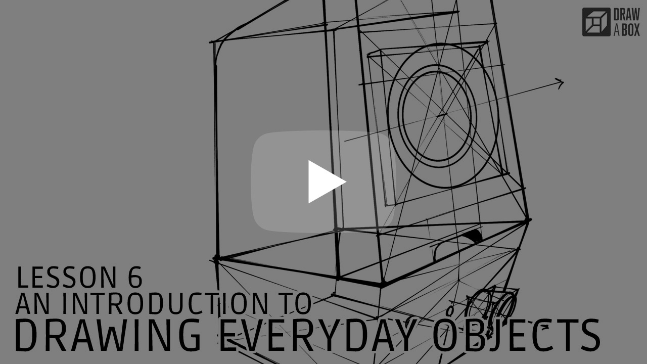 Drawabox com | Part Two: Constructional Drawing | Lesson 6