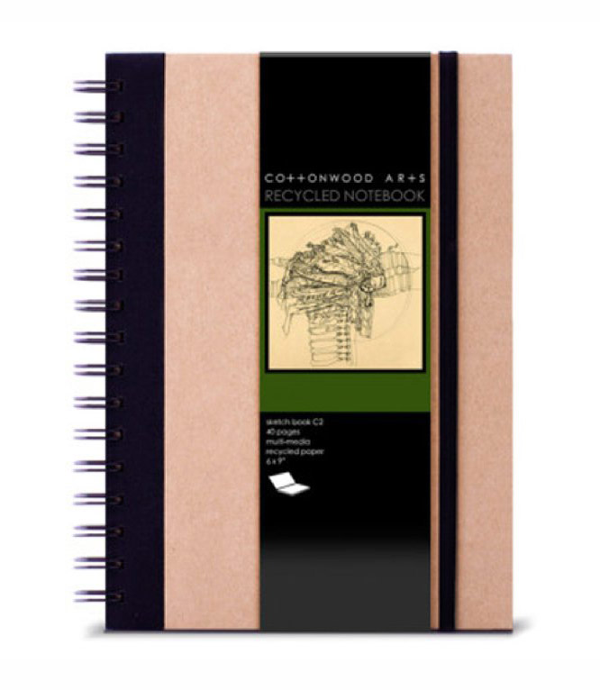 Cottowood Arts Sketchbooks