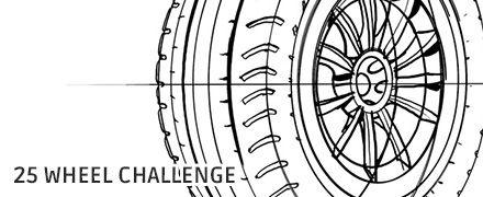 25 Wheel Challenge