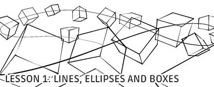Lines, Ellipses and Boxes