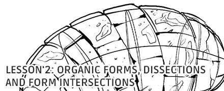 Organic Forms, Dissections and Form Intersections